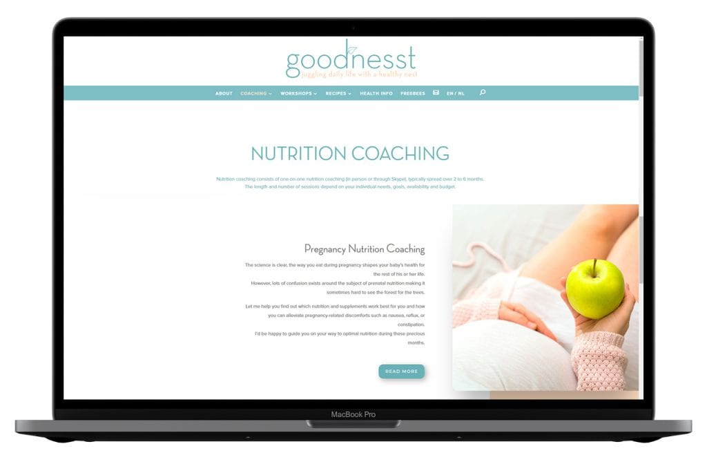 Portfolio goodnesst coaching